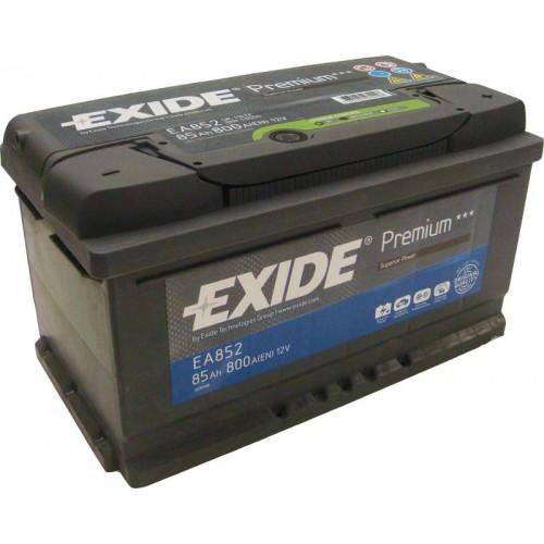 EXIDE PREMIUM 12V 85AH 800A JOBB+ AKKUMULÁTOR EA852