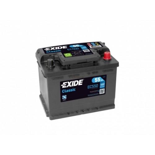EXIDE CLASSIC EC550 55AH JOBB