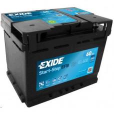 EXIDE EFB 60AH J EL600